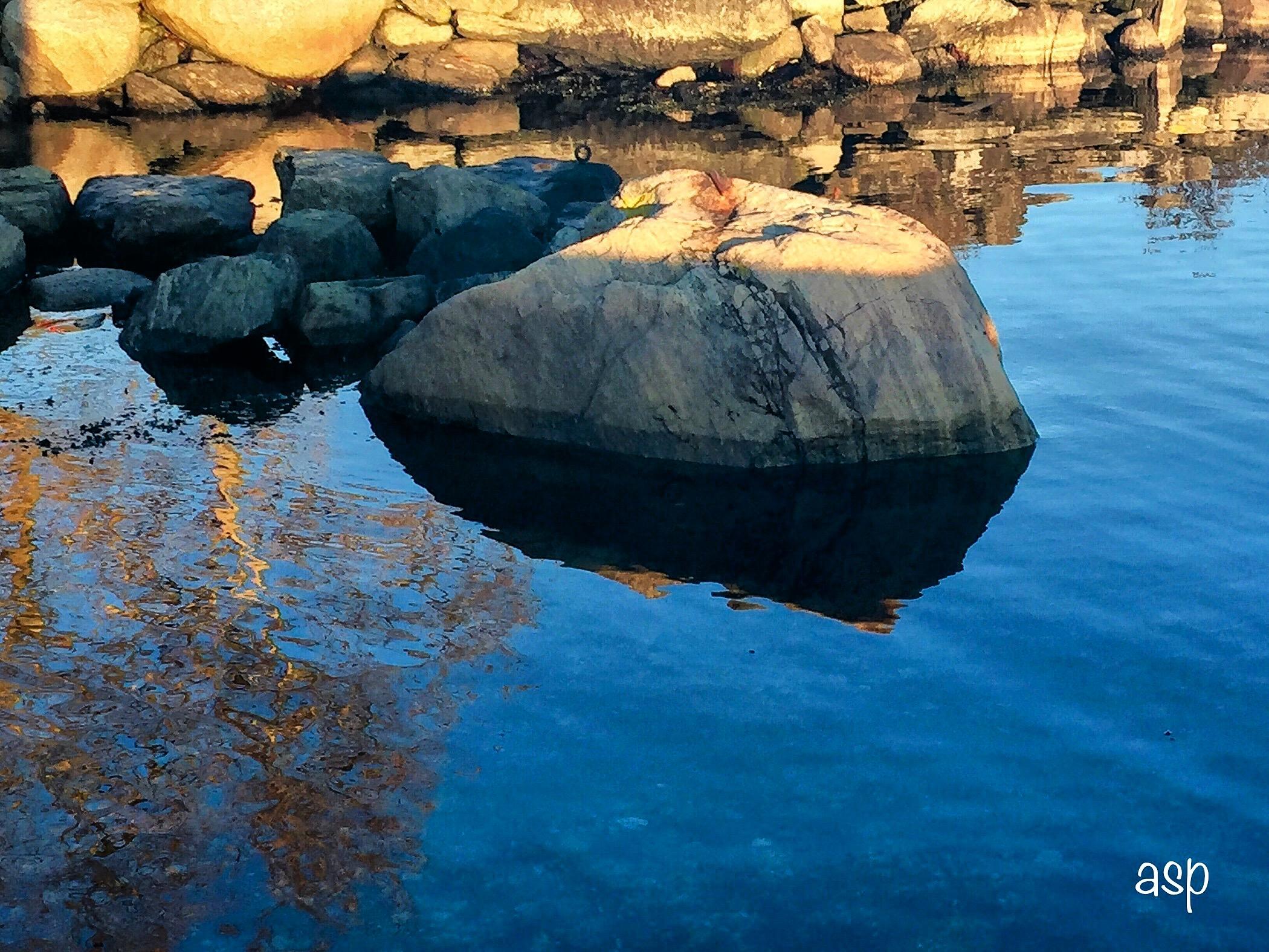 speiling i vannet